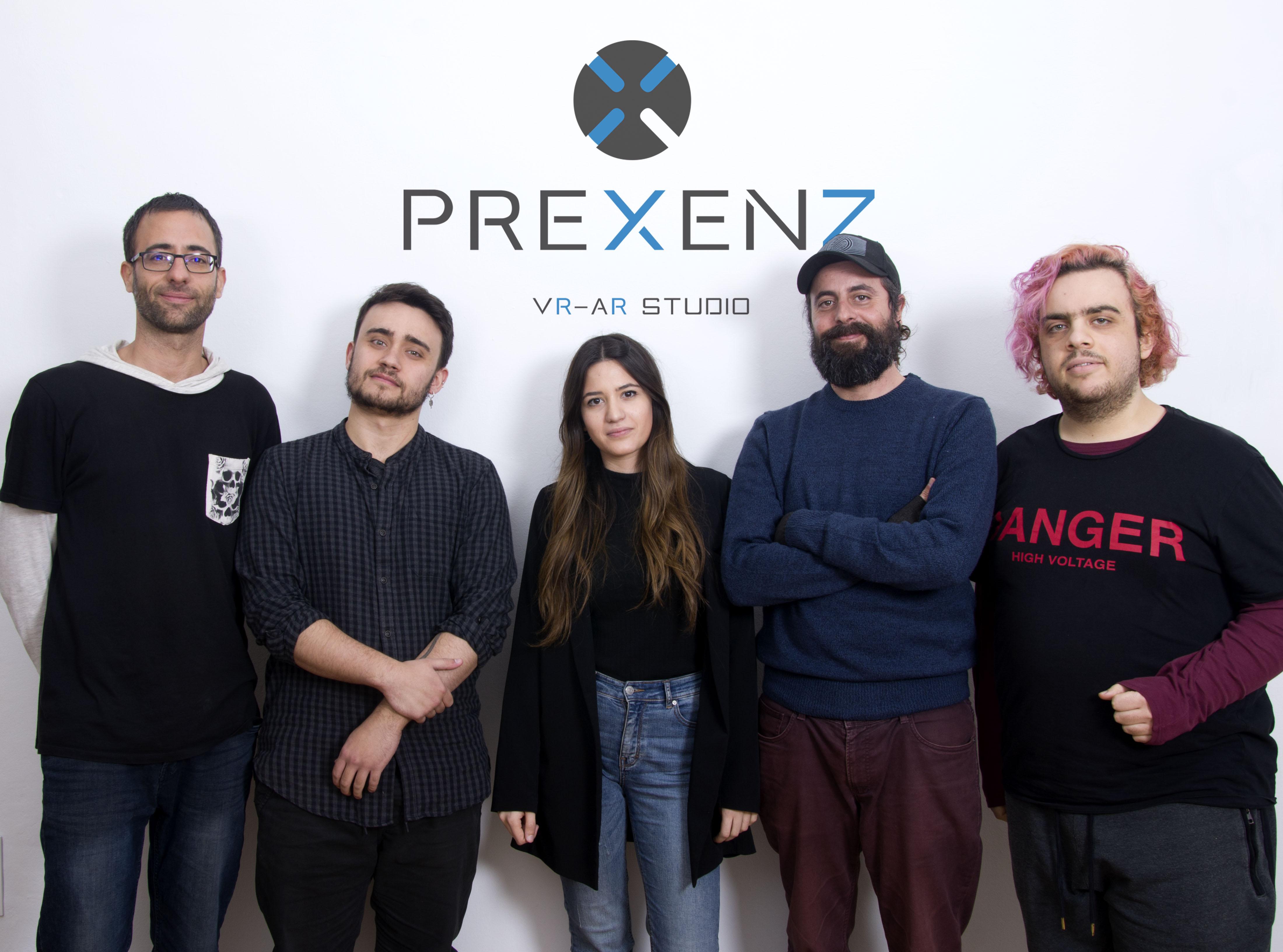 Fotografía del equipo de Prexenz