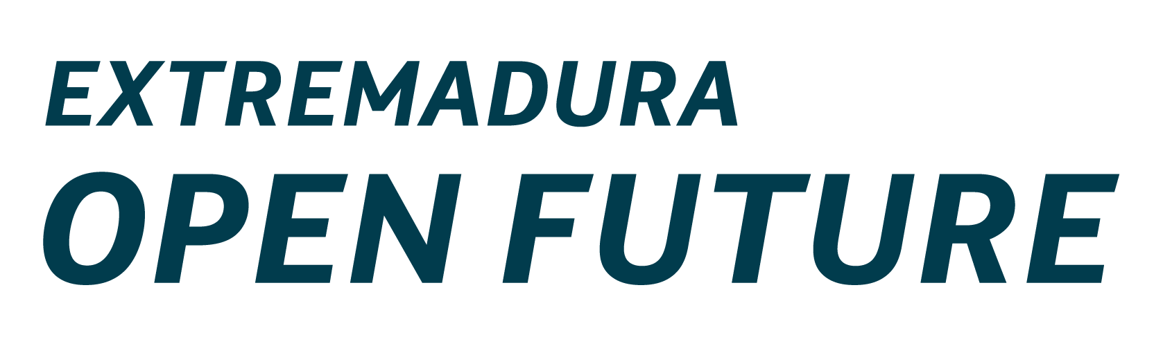 Logotipo de Extremadura Open Future